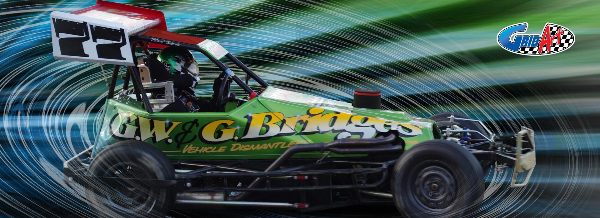 Superstox Racing Digital Art